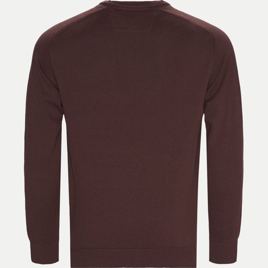 12250 1169 - Holger CP Knit - Strik - Regular - BORDEAUX - 2