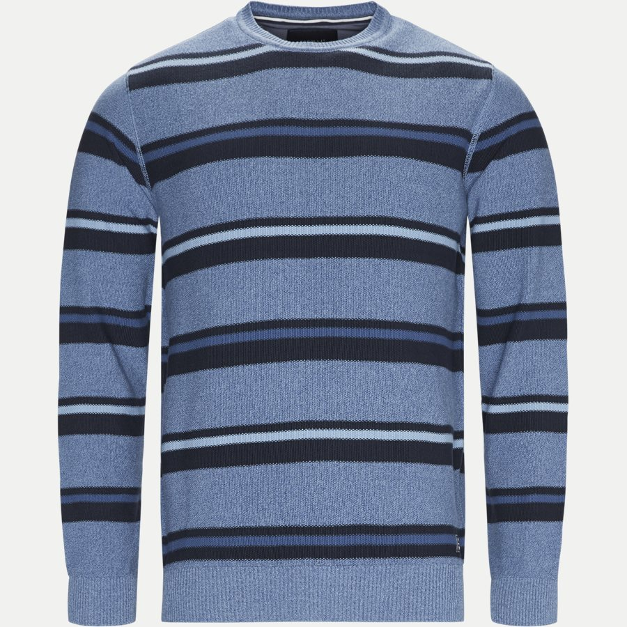 12251 1170 - Heine Stripe Knit - Strik - Regular - BLÅ - 1