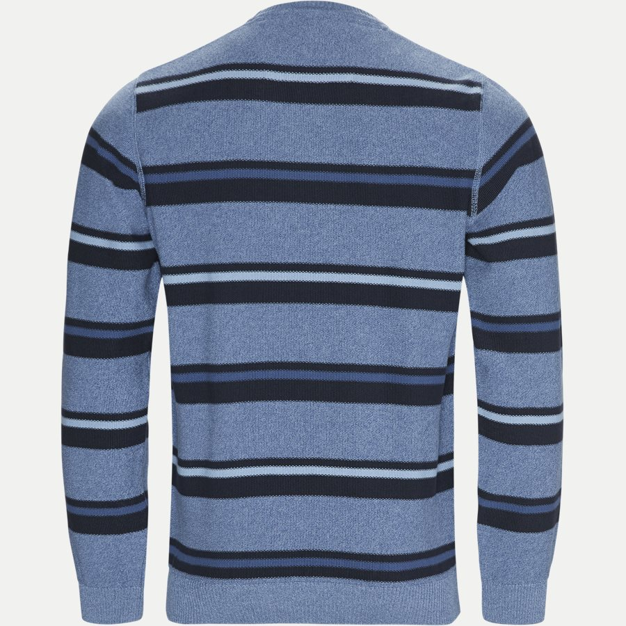 12251 1170 - Heine Stripe Knit - Strik - Regular - BLÅ - 2