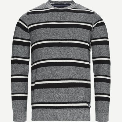 Heine Stripe Knit Regular | Heine Stripe Knit | Grå