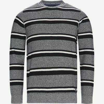 Heine Stripe Knit Regular | Heine Stripe Knit | Grå