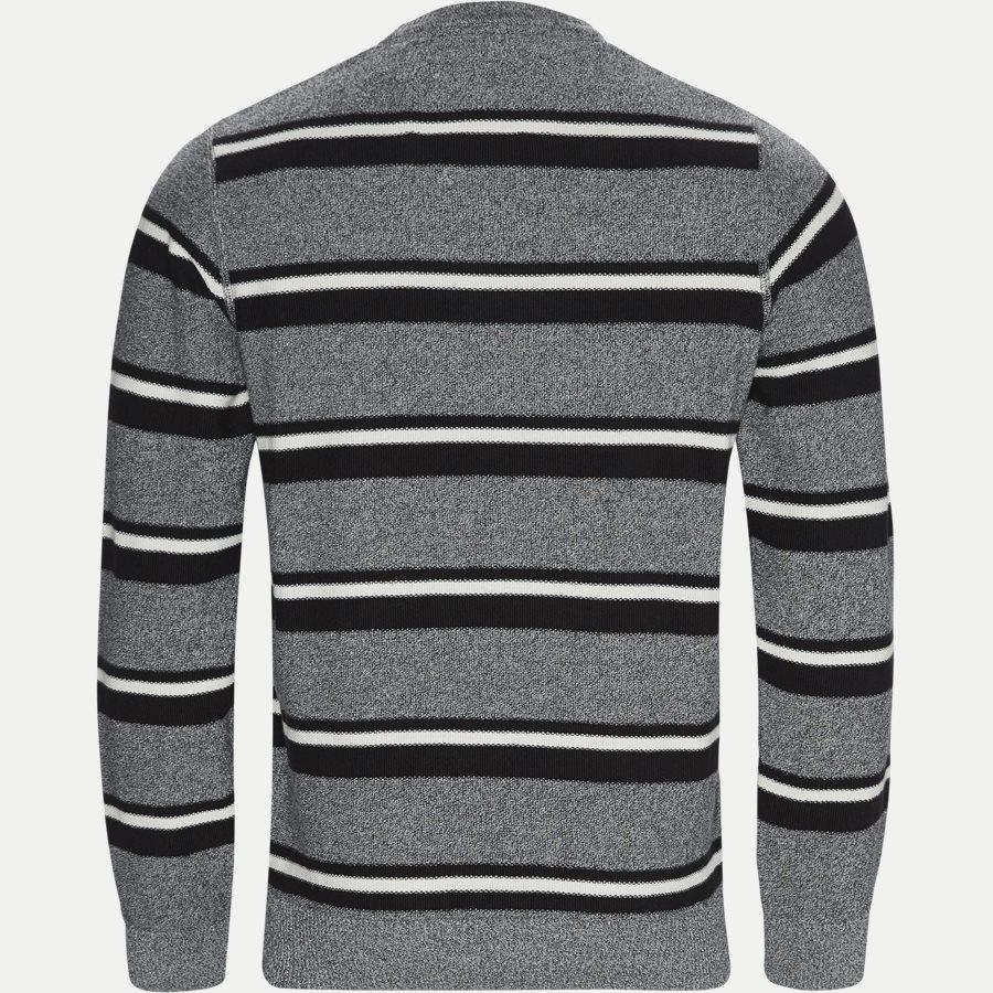 12251 1170 - Heine Stripe Knit - Strik - Regular - GRÅ - 2