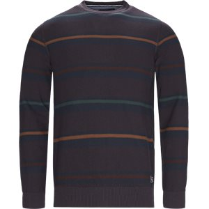 Heine Stripe Knit Regular | Heine Stripe Knit | Blå