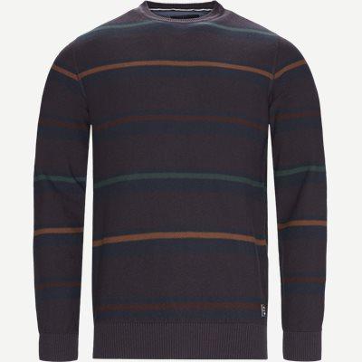 Heine Stripe Knit Regular | Heine Stripe Knit | Blå