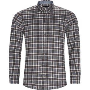 Dirk Check Shirt Regular | Dirk Check Shirt | Grå