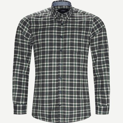 Dirk Check Shirt Regular | Dirk Check Shirt | Grøn