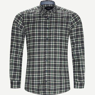 Dirk Check Shirt Regular | Dirk Check Shirt | Grøn