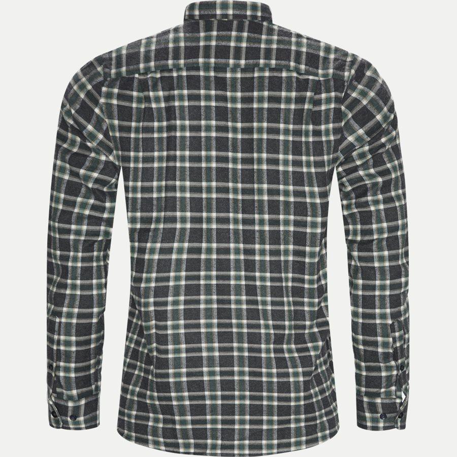 15270 1180 - Dirk Check Shirt - Skjorter - Regular - GRØN - 2
