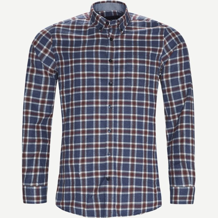 Dirk Check Shirt - Skjorter - Regular - Blå