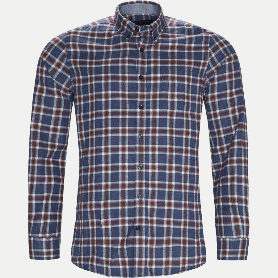 15270 1180 - Dirk Check Shirt - Skjorter - Regular - NAVY - 1