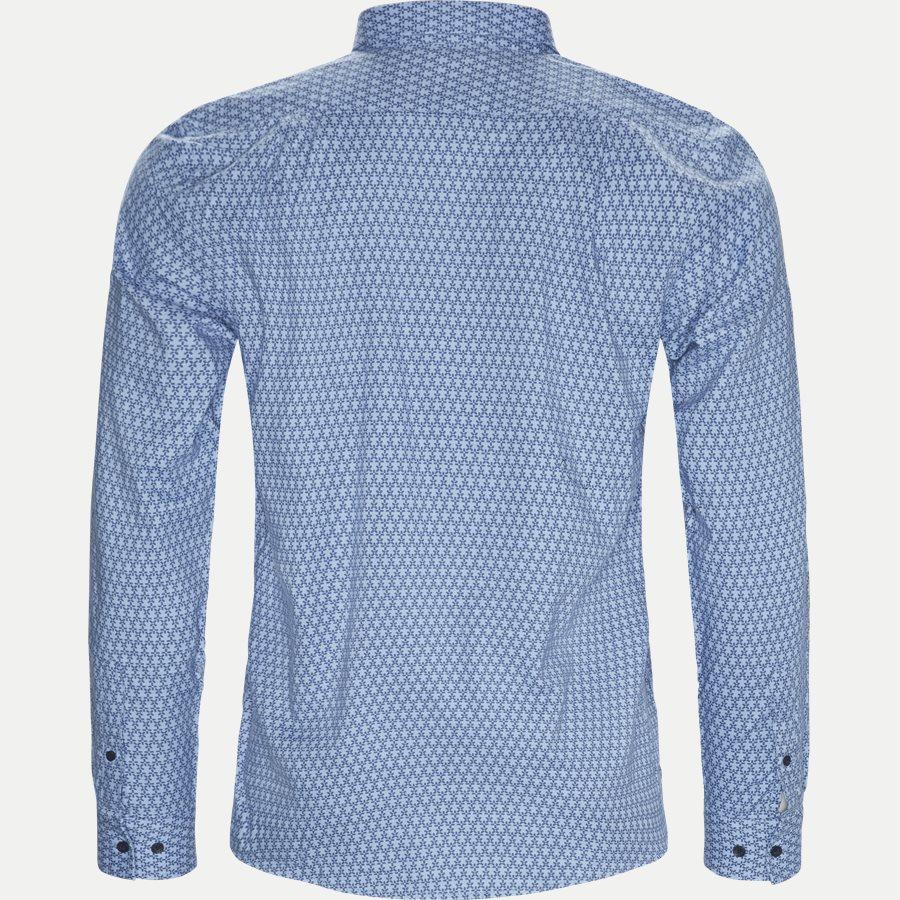 15273 1183 - Dustin Print Shirt - Skjorter - Regular - BLÅ - 2