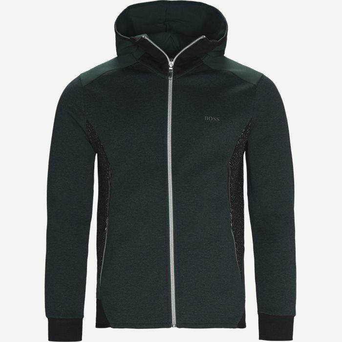 Selnio Hoodie Sweatshirt - Sweatshirts - Slim - Grøn