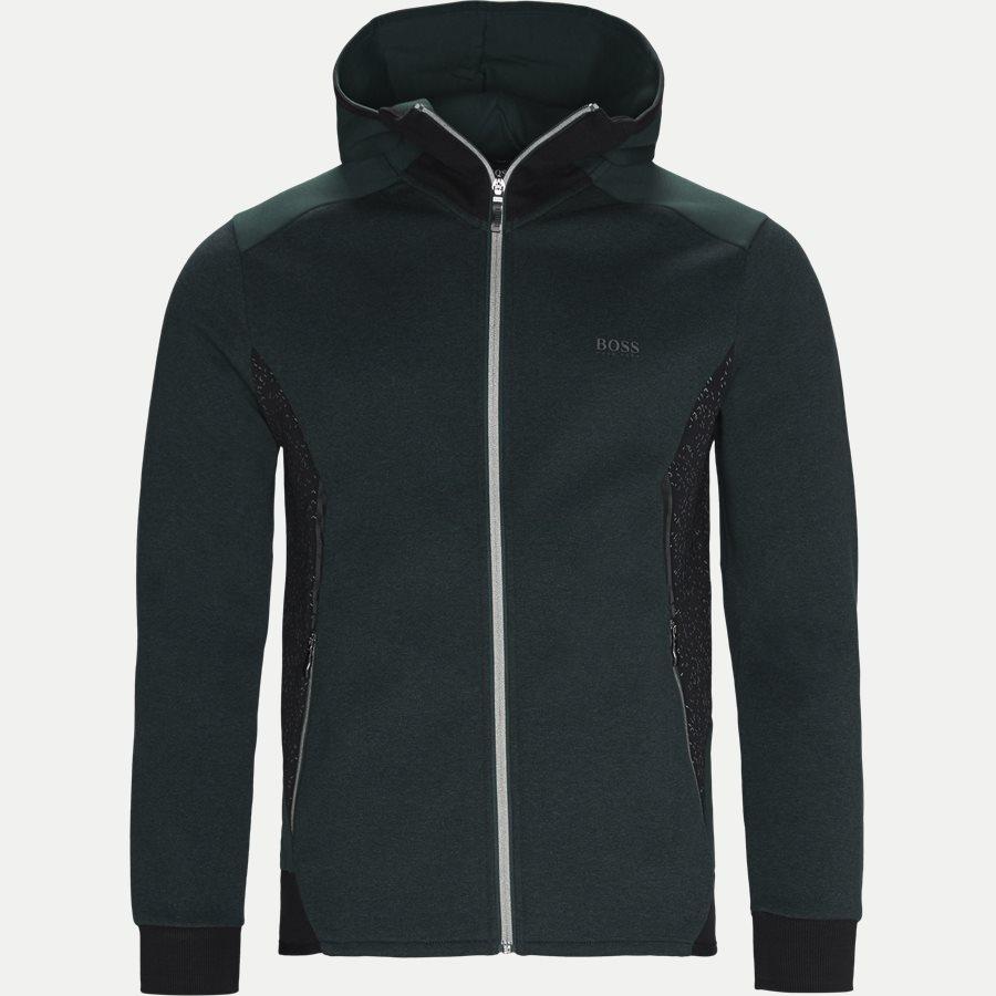 50399865 SELNIO - Selnio Hoodie Sweatshirt - Sweatshirts - Slim - GRØN - 1