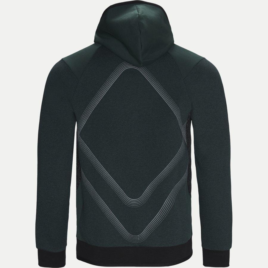 50399865 SELNIO - Selnio Hoodie Sweatshirt - Sweatshirts - Slim - GRØN - 2