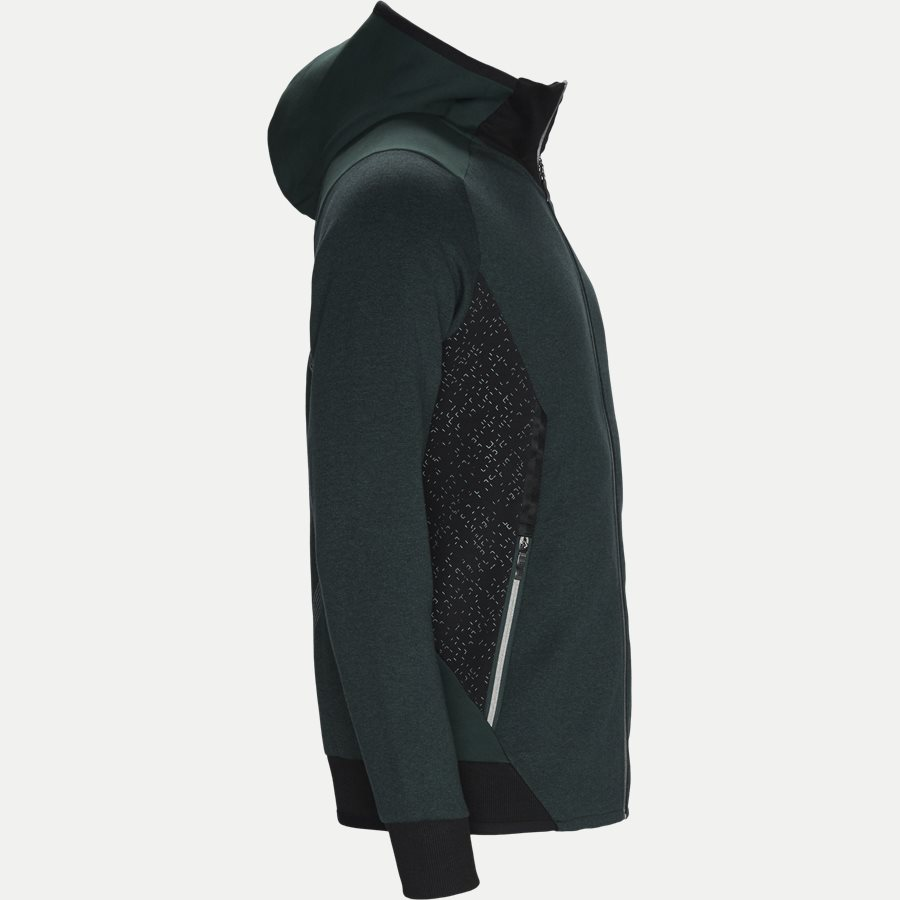 50399865 SELNIO - Selnio Hoodie Sweatshirt - Sweatshirts - Slim - GRØN - 3