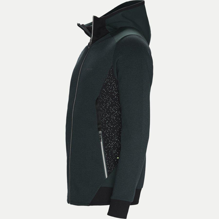50399865 SELNIO - Selnio Hoodie Sweatshirt - Sweatshirts - Slim - GRØN - 4