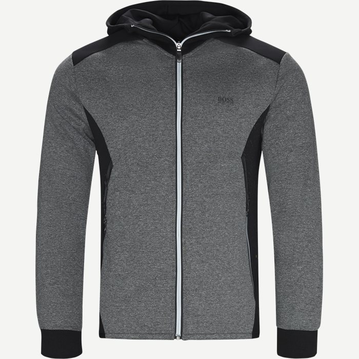 Selnio Hoodie Sweatshirt - Sweatshirts - Slim - Sort