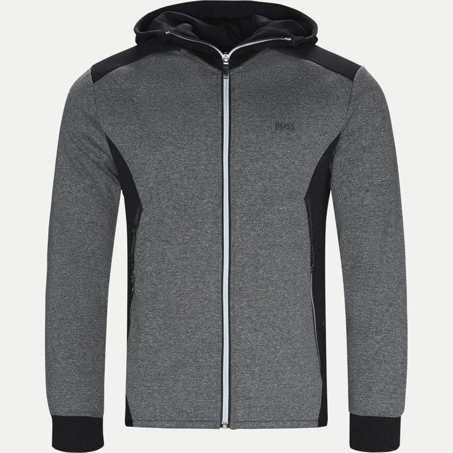 50399865 SELNIO - Selnio Hoodie Sweatshirt - Sweatshirts - Slim - SORT - 1