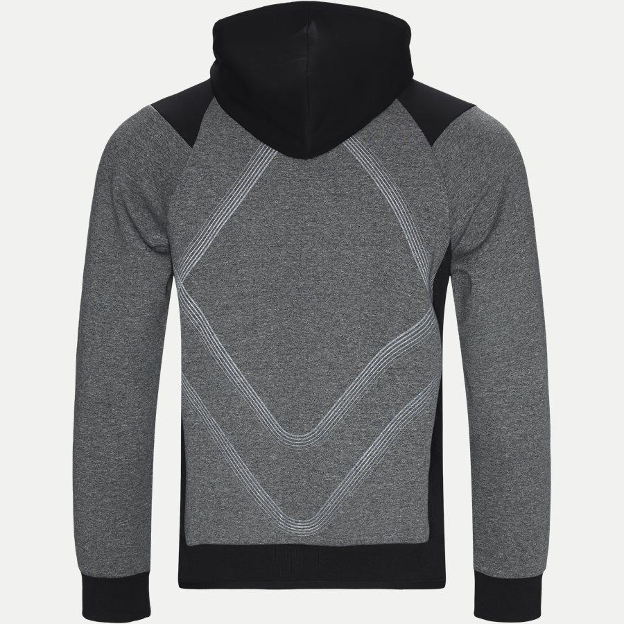 50399865 SELNIO - Selnio Hoodie Sweatshirt - Sweatshirts - Slim - SORT - 2