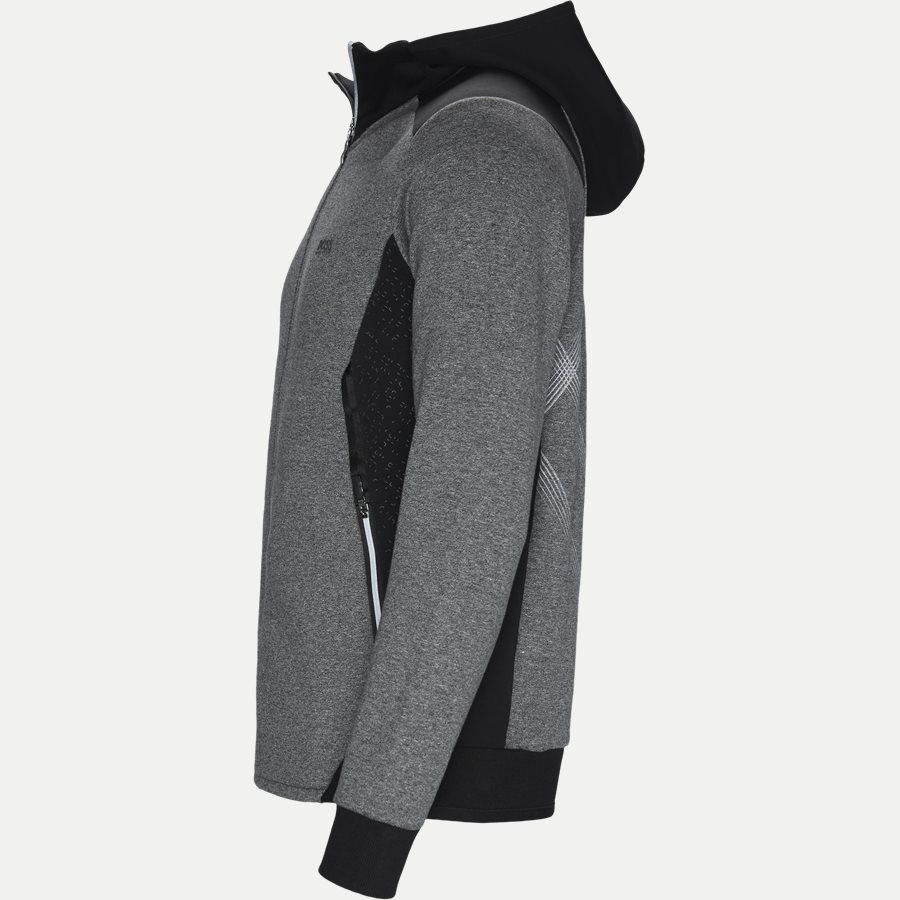 50399865 SELNIO - Selnio Hoodie Sweatshirt - Sweatshirts - Slim - SORT - 3