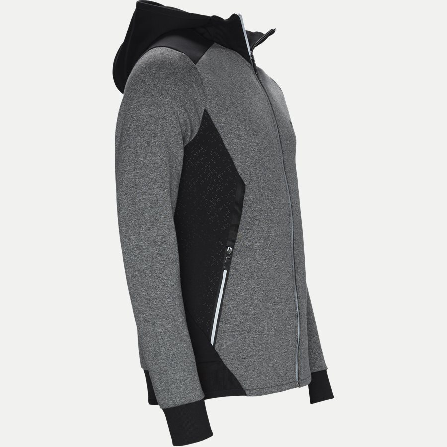 50399865 SELNIO - Selnio Hoodie Sweatshirt - Sweatshirts - Slim - SORT - 4