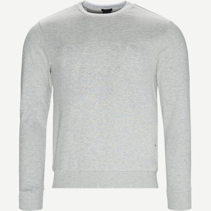 Salbo Sweatshirt - Sweatshirts - Slim - Grå
