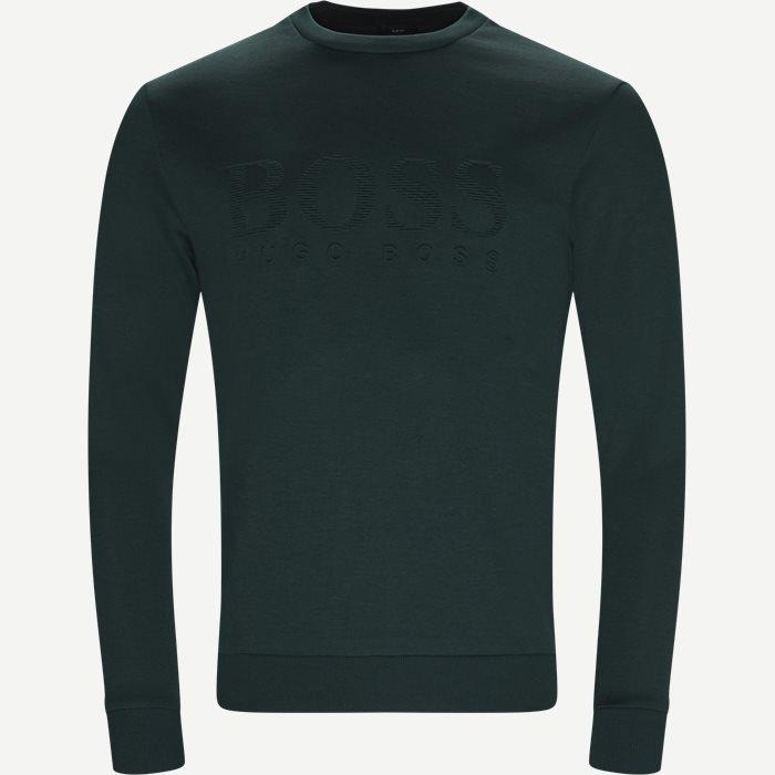Salbo Sweatshirt - Sweatshirts - Slim - Grøn