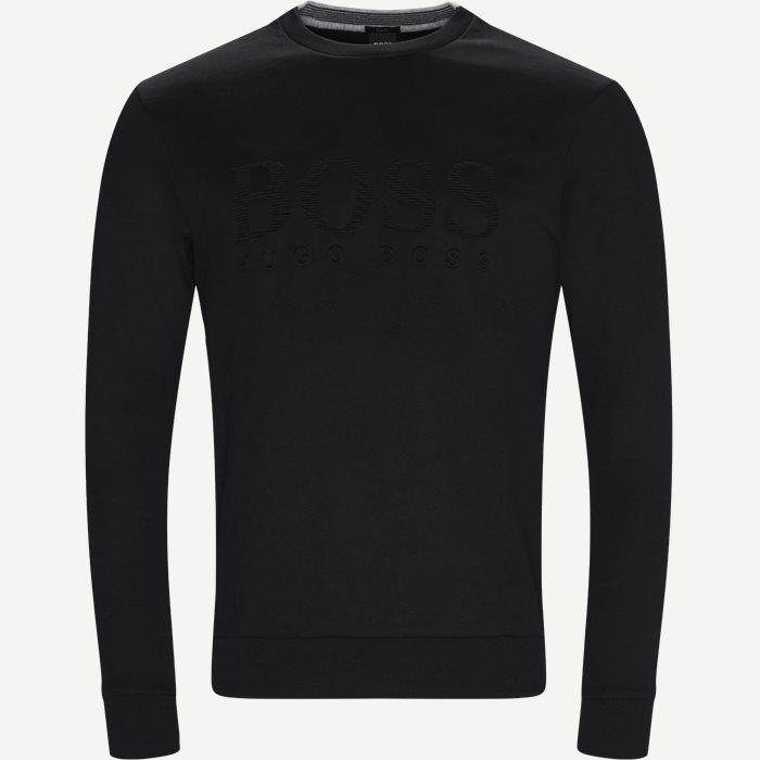 Salbo Sweatshirt - Sweatshirts - Slim - Sort