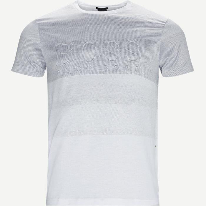 Teep2 T-shirt - T-shirts - Slim - Hvid
