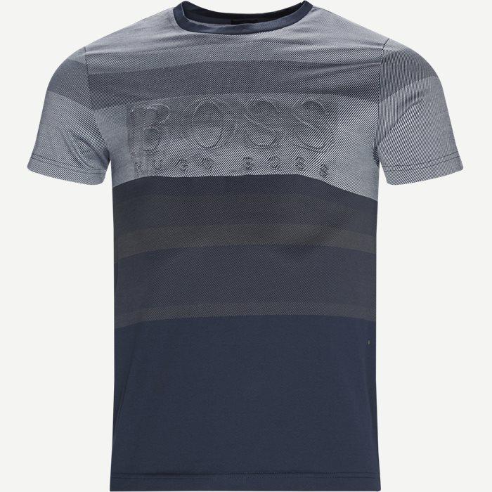 Teep2 T-shirt - T-shirts - Slim - Blå