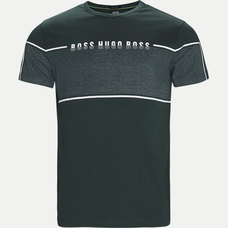 50399926 TEE4 - Tee4 T-shirt - T-shirts - Regular - GRØN - 1