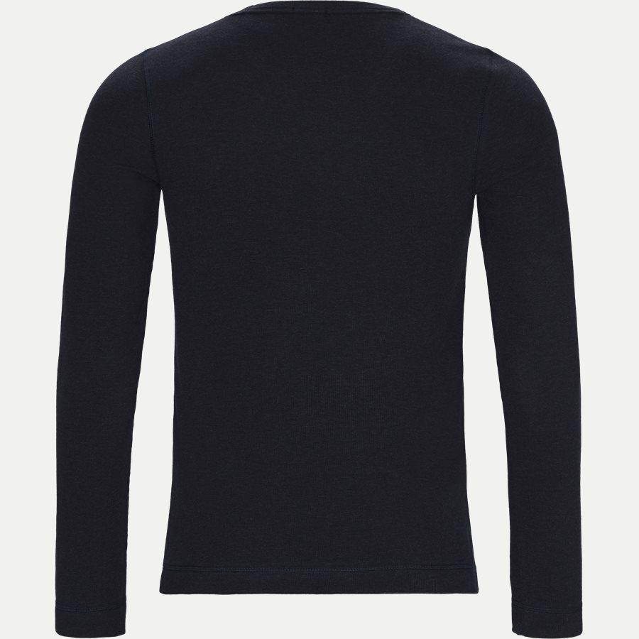 50401846 TEMPEST. - Tempest Langærmet T-shirt - T-shirts - Slim - NAVY - 2