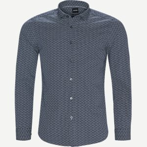 Lucky Skjorte Regular | Lucky Skjorte | Blå