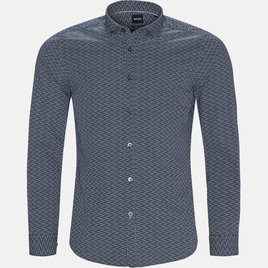 50399927 LUCKY - Lucky Skjorte - Skjorter - Regular - NAVY - 1
