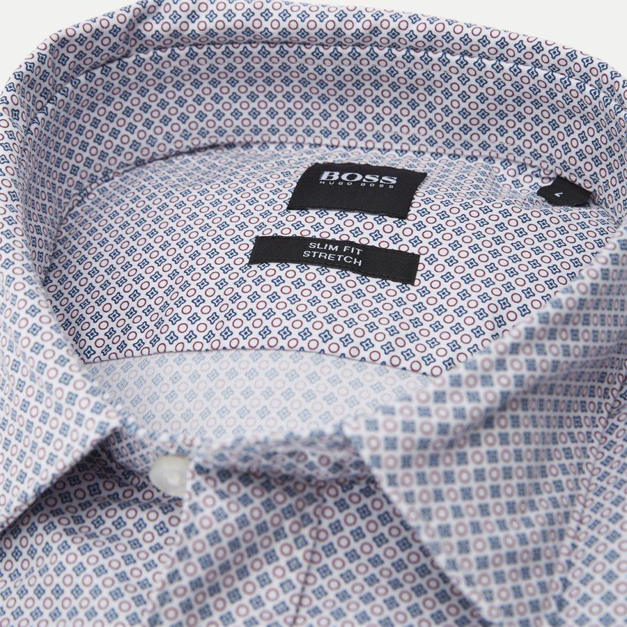 50399792 RONNI - Ronni Skjorte - Skjorter - Slim - BORDEAUX - 4