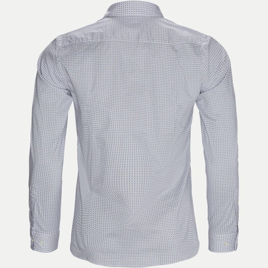 50399792 RONNI - Ronni Skjorte - Skjorter - Slim - BORDEAUX - 2