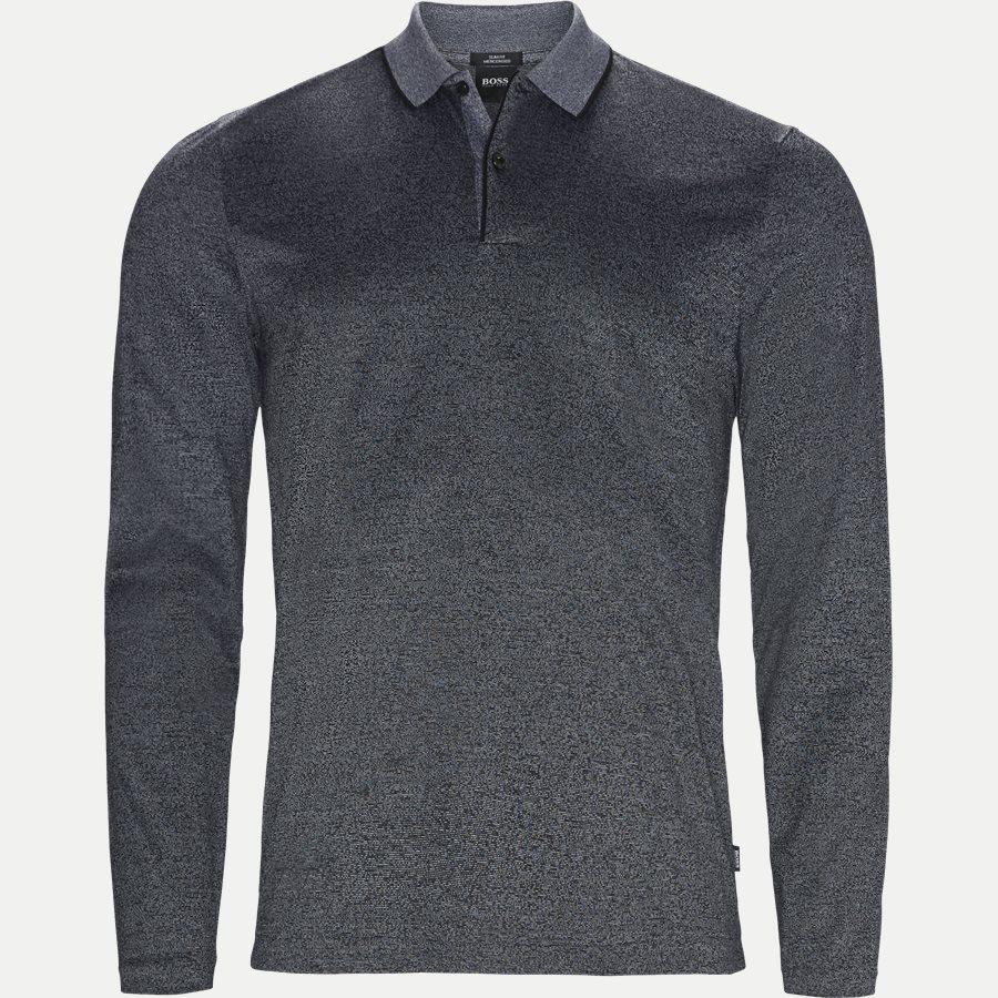 50397274 PASCHAL04 - Paschal04 Long Sleeve Polo - T-shirts - Slim - SORT - 1