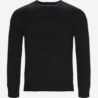 Laudato Cashmere Strik Regular | Laudato Cashmere Strik | Sort