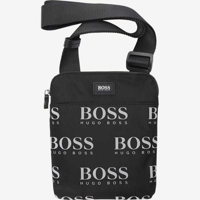 Iconic_s Zip Cross Over Bag - Tasker - Sort
