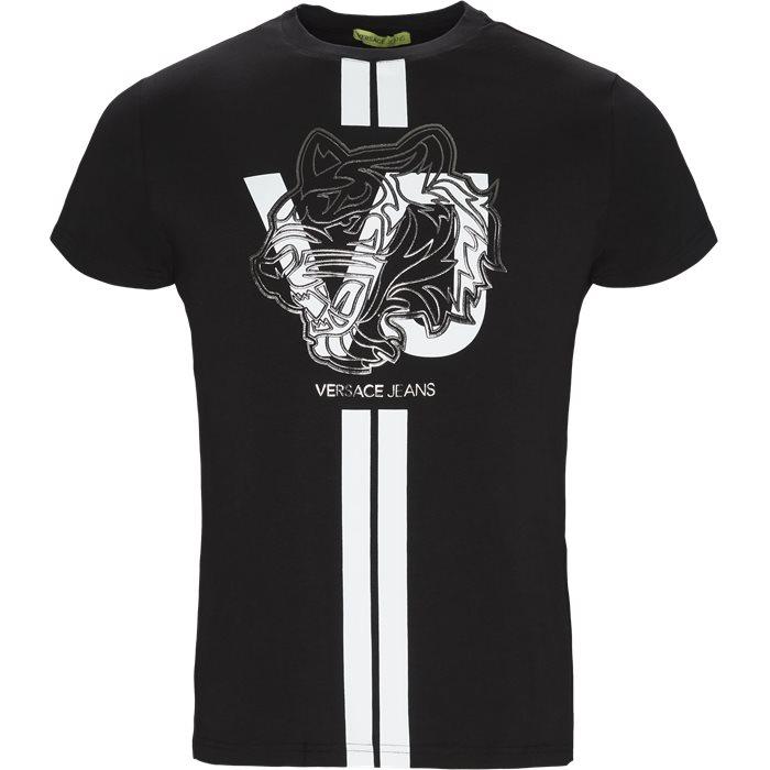 B3GTA76G - T-shirts - Regular - Sort