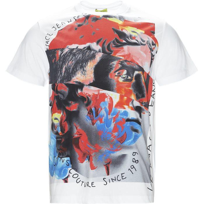 B3GTA72A - T-shirts - Regular fit - Hvid