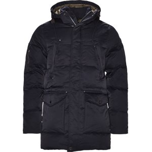Down Puffer Parka Regular | Down Puffer Parka | Blå