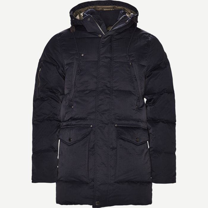 Down Puffer Parka - Jakker - Regular - Blå