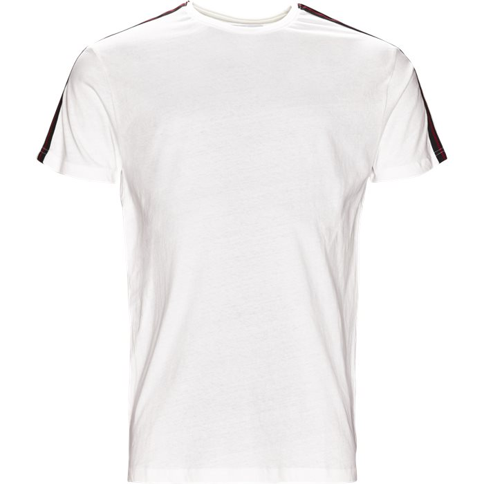 TEE TAPE - T-shirts - Regular fit - Hvid