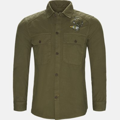 Regular fit   Shirts   Army