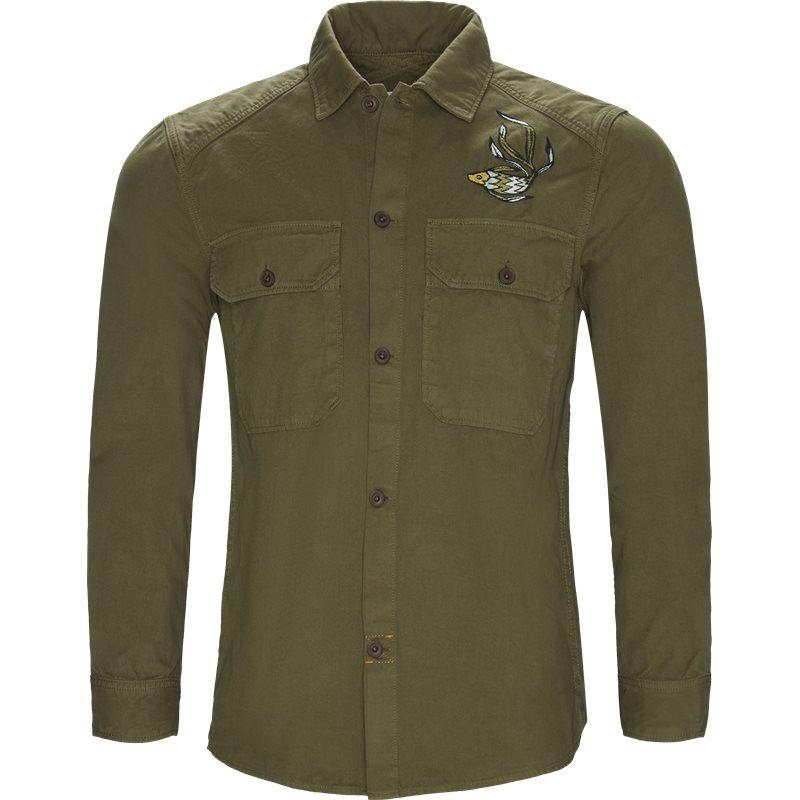 Billede af CLOSED Regular fit C84960-52C-EM Skjorter Army