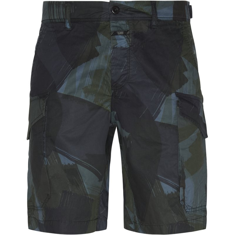 Image of   CLOSED Regular fit C82340-50F-PP Shorts Camo