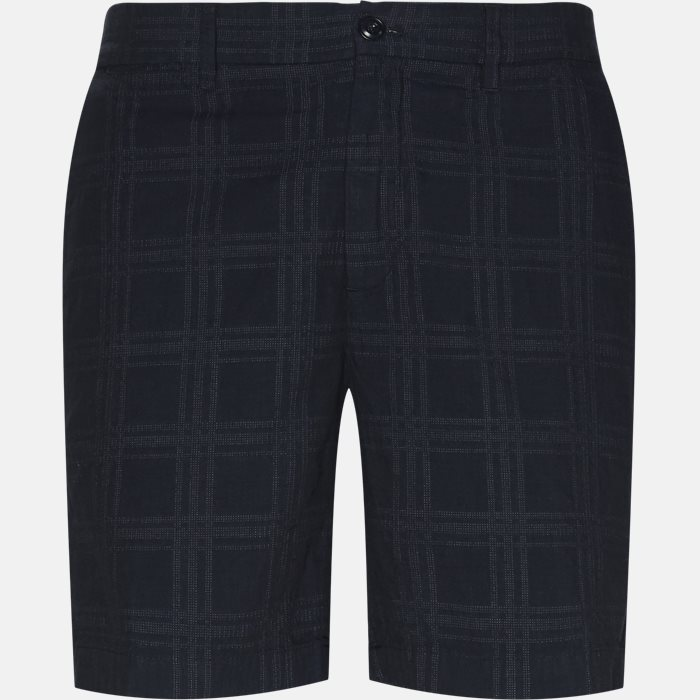Shorts - Regular fit - Blå