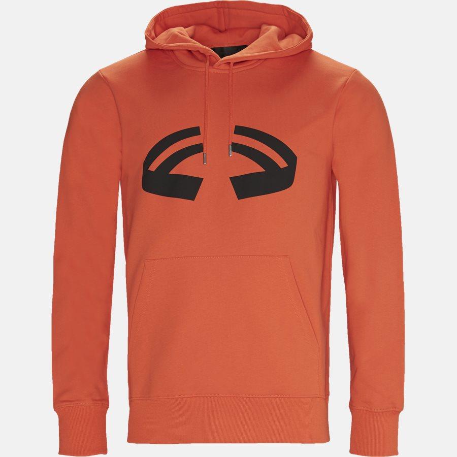 I09PM502 HALOWEEN HOODIE - Sweatshirts - Oversized - ORANGE - 1