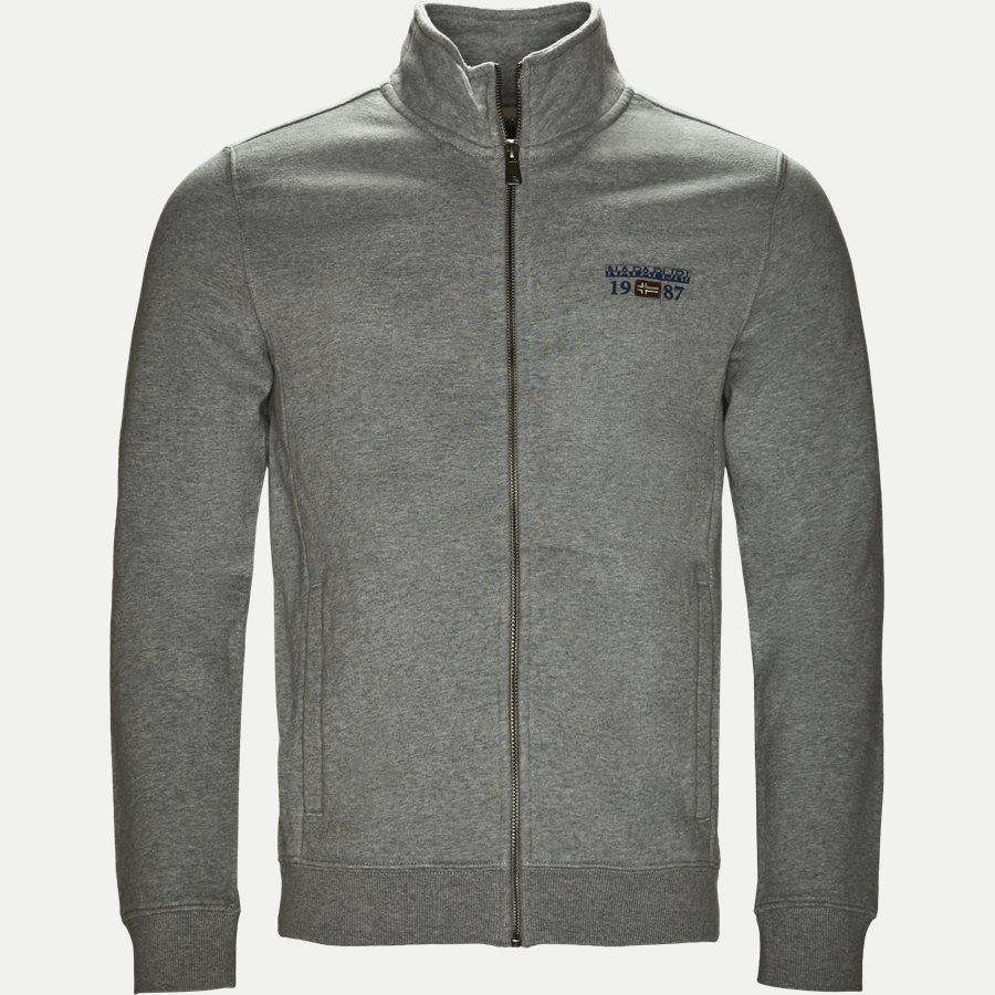 BERTHOW LOGO FULL - Berthow Logo Sweatshirt - Sweatshirts - Regular - GREY - 1